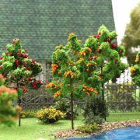 Фруктовые деревья для макета