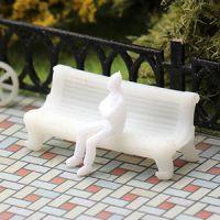 Лавочки и скамейки для макета