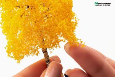 10 см. Осенняя берёза для макета
