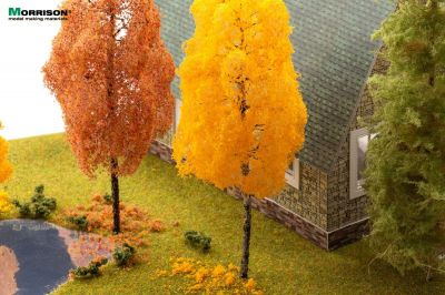 20 см. Осенняя берёза для макета