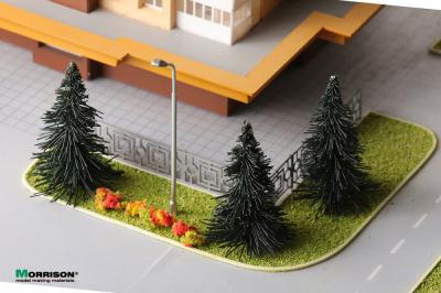 Декоративная городская ель для макетов в масштабе 1:200