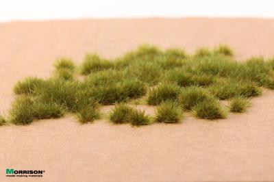 Электростатическая трава для флокатора «Болотная зелень» 3 мм.