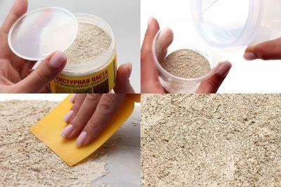 """Текстурная паста для ландшафта """"Песок"""""""