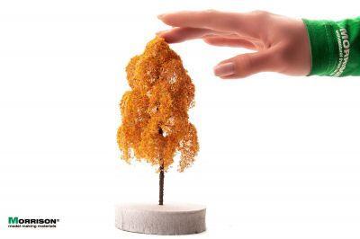 15 см. Осеннее дерево для макета