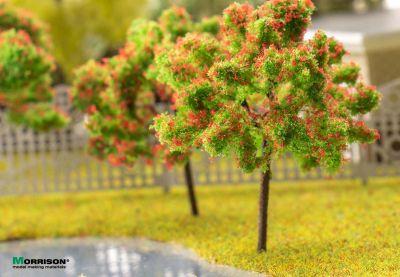Красное цветущее дерево 5 см.