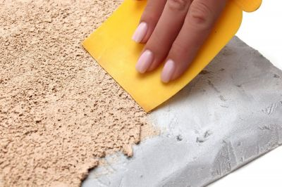 """Текстурная паста для ландшафта """"Карьерный песок"""""""