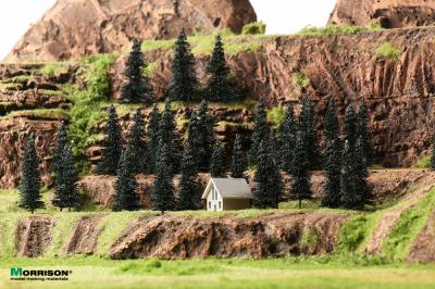 Фасонные мини кирпичики в масштабе 1:9 (100 шт.)