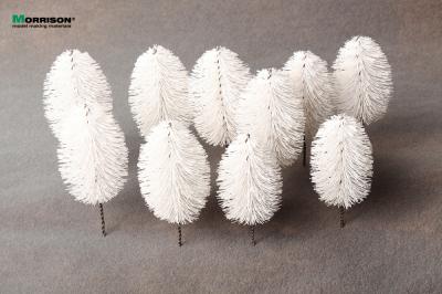 Белые деревья для макета. Высота 9-11 см. Набор 10 штук.