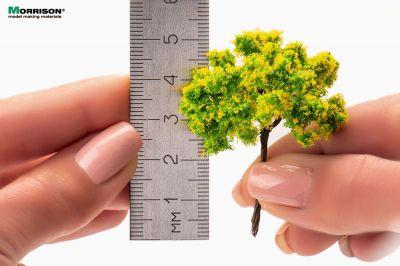 Жёлтое цветущее дерево 5 см.