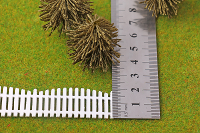 Забор штакетник фигурный h=20мм