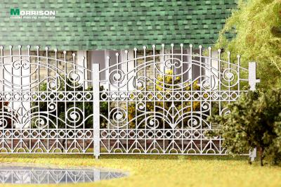 Художественное садово-парковое ограждение для макета