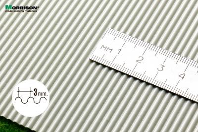 Шифер в масштабе 1/72 (шаг волны 3мм.).