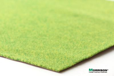 (А4 - 20х29 см.) Травяной мат «Солнечная зелень»