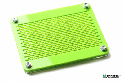 Форма со сборочным шаблоном для изготовления мини-кирпичиков в масштабе 1:35