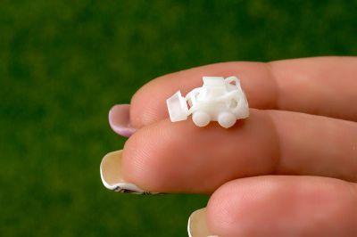 Мини-погрузчики для макетов в масштабе М 1:300 (Набор 5 шт.)