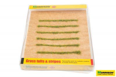 Полосы травы для макета. Свежая трава.