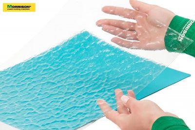 """""""Водная рябь"""" - прозрачная имитация воды для макетов и диорам (Лист А3- 28см.х38см.)"""