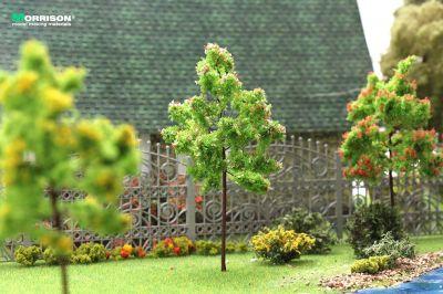 Нежно-розовое цветущее дерево 10 см.