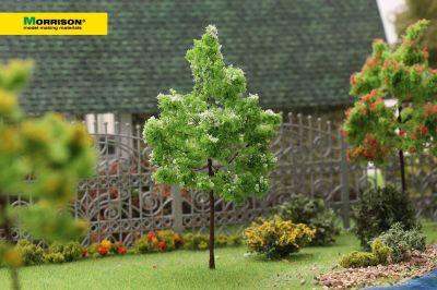 Белое цветущее дерево для макета. Высота 10 см.