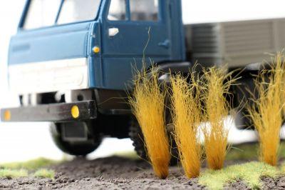"""Высокие пучки травы """"Золотисто-охристые"""". Набор 10 штук."""