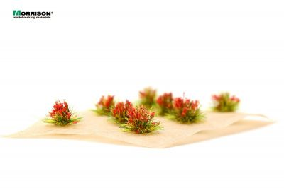 Красные цветущие кочки для диорам.