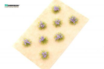 Сиреневые цветущие кочки для диорам.