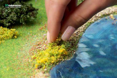 """Цветочная присыпка для макета """"Жёлтые цветы"""""""