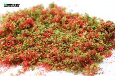 """Цветочная присыпка для макета """"Красные цветы"""""""