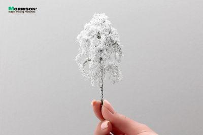 Зимняя берёза для макета 10 см.