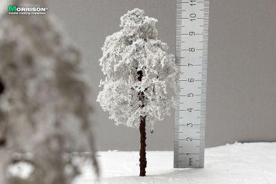 Зимнее дерево для макета 10 см.