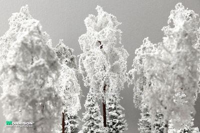 Зимнее дерево для макета 20 см.