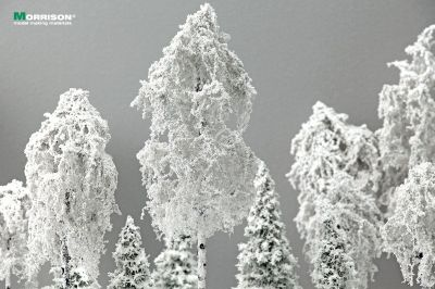 Зимняя берёза для макета 20 см.