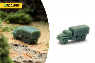 "Масштабная модель автомобиля ""УРАЛ"" (М 1:250)"