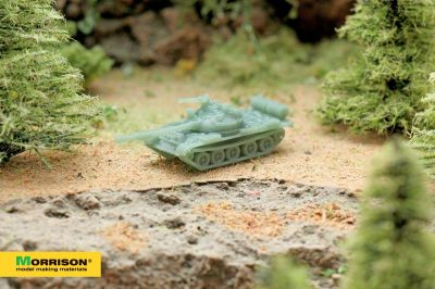 Масштабная модель танка (М 1:250)