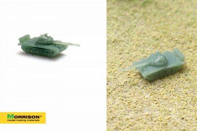 Масштабная модель танка (М 1:500)