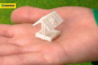 Песочница для макета в масштабе 1:100