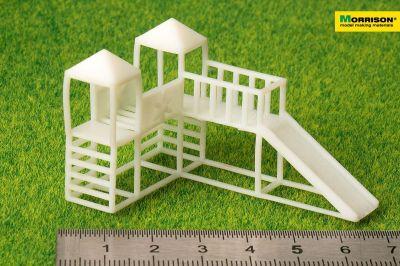 Детский игровой комплекс для макета в масштабе 1:100