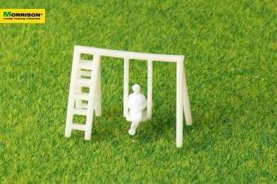 Качели с лестницей