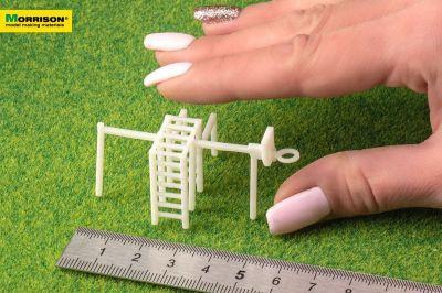 Спортивный комплекс для архитектурных макетов в масштабе 1:100