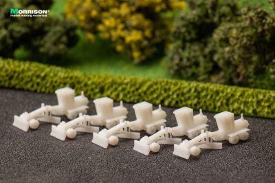 Грейдеры для макетов в масштабе 1:300 (Набор 5 шт.)