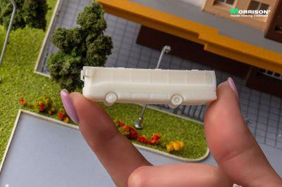 Туристические автобусы в масштабе 1:250 (Набор 5 шт.)