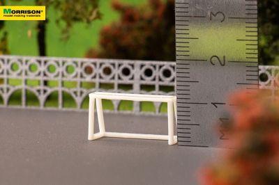 Мини-футбольные ворота в масштабе 1:150