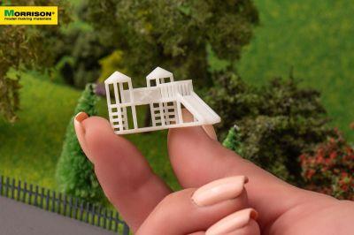 Детский игровой комплекс для макета в масштабе 1:200