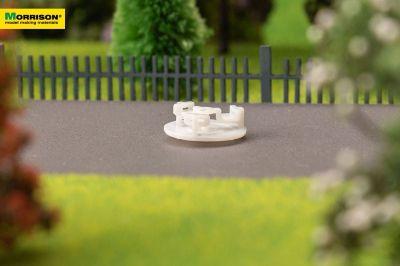 Карусель для макета детской площадки в масштабе 1:200