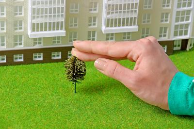 Миниатюрные деревья для макета. Набор 20 шт.