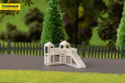 Детский игровой комплекс для макета в масштабе 1:250