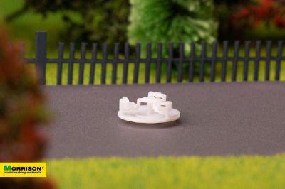 Карусель для макета детской площадки в масштабе 1:250