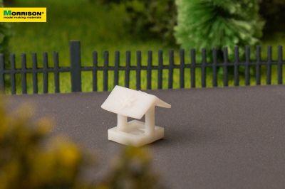Песочница для макета детской площадки в масштабе 1:250
