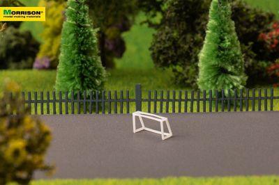 Мини-футбольные ворота для макета спортивной площадки  масштабе 1:250
