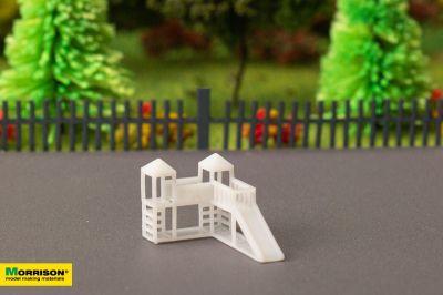 Детский игровой комплекс для макета в масштабе 1:300